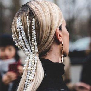 Pearl Hairpin Chain